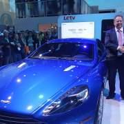 Aston Martin Letv CES 2016