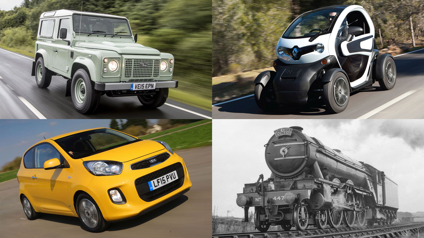 14 cars that are slower than the Flying Scotsman