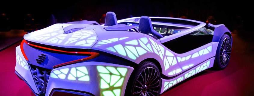 Bosch CES 2016 concept car