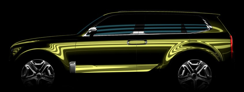 Kia teases brash SUV concept ahead of Detroit Motor Show