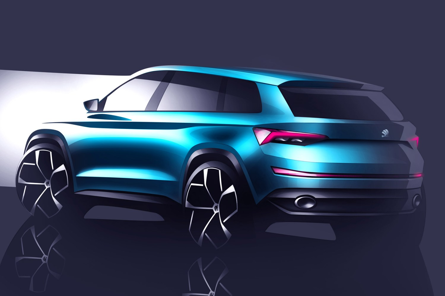 This is what a seven-seat Skoda SUV will look like