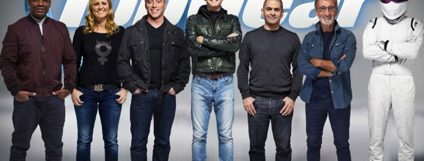 This is what the new Top Gear line-up looks like