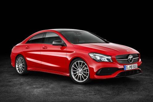 Mercedes-Benz CLA Coupe 2016
