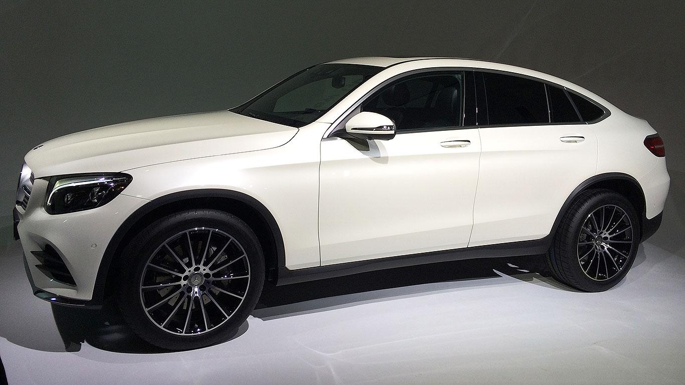 Mercedes-Benz GLC Coupe New York