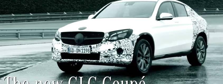 Mercedes-Benz GLC Coupe teaser