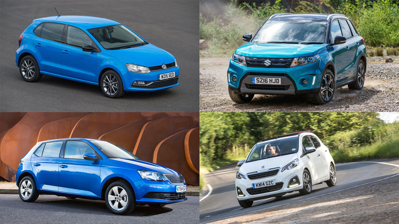 Best new cars for a fiver a day
