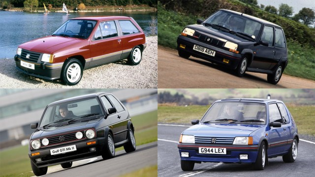 Fiesta XR2 rivals