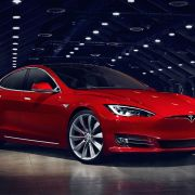 Facelifted Tesla Model S: less grille and more wood