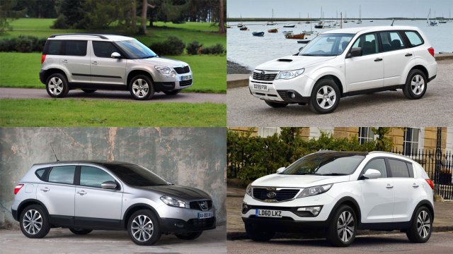 Best used crossovers and SUVs