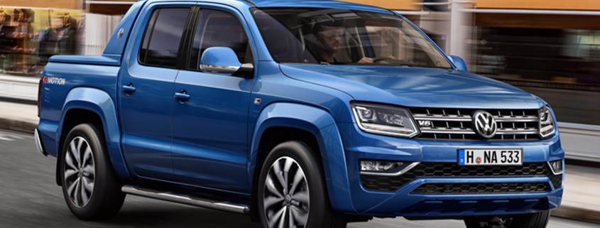 VW's new Amarok pick-up will hit 62mph in 7.9 seconds