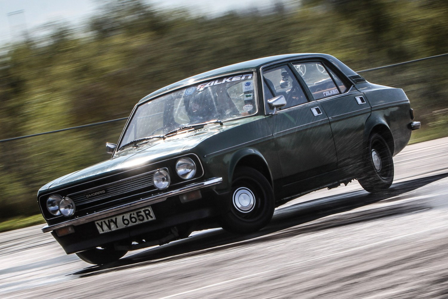 Video: we broke a Morris Marina (without dropping a piano on it)