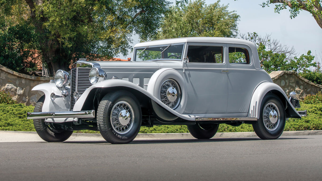 1933 Marmon Sixteen Victoria Coupe: 206% growth