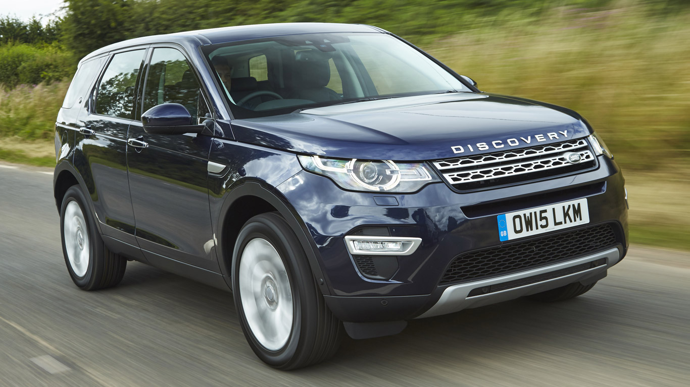 Land Rover Discovery Sport: £9.65 a day