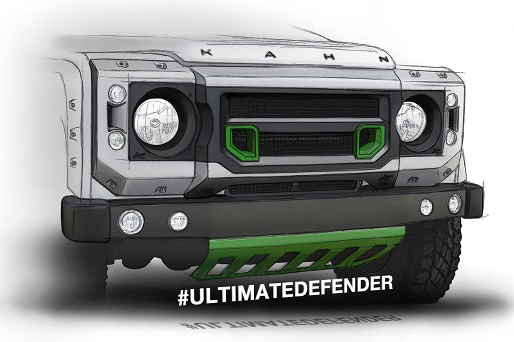 One Off Land Rover Defender Ultimate For London Motor Show