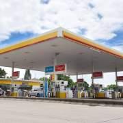 Shell filling station