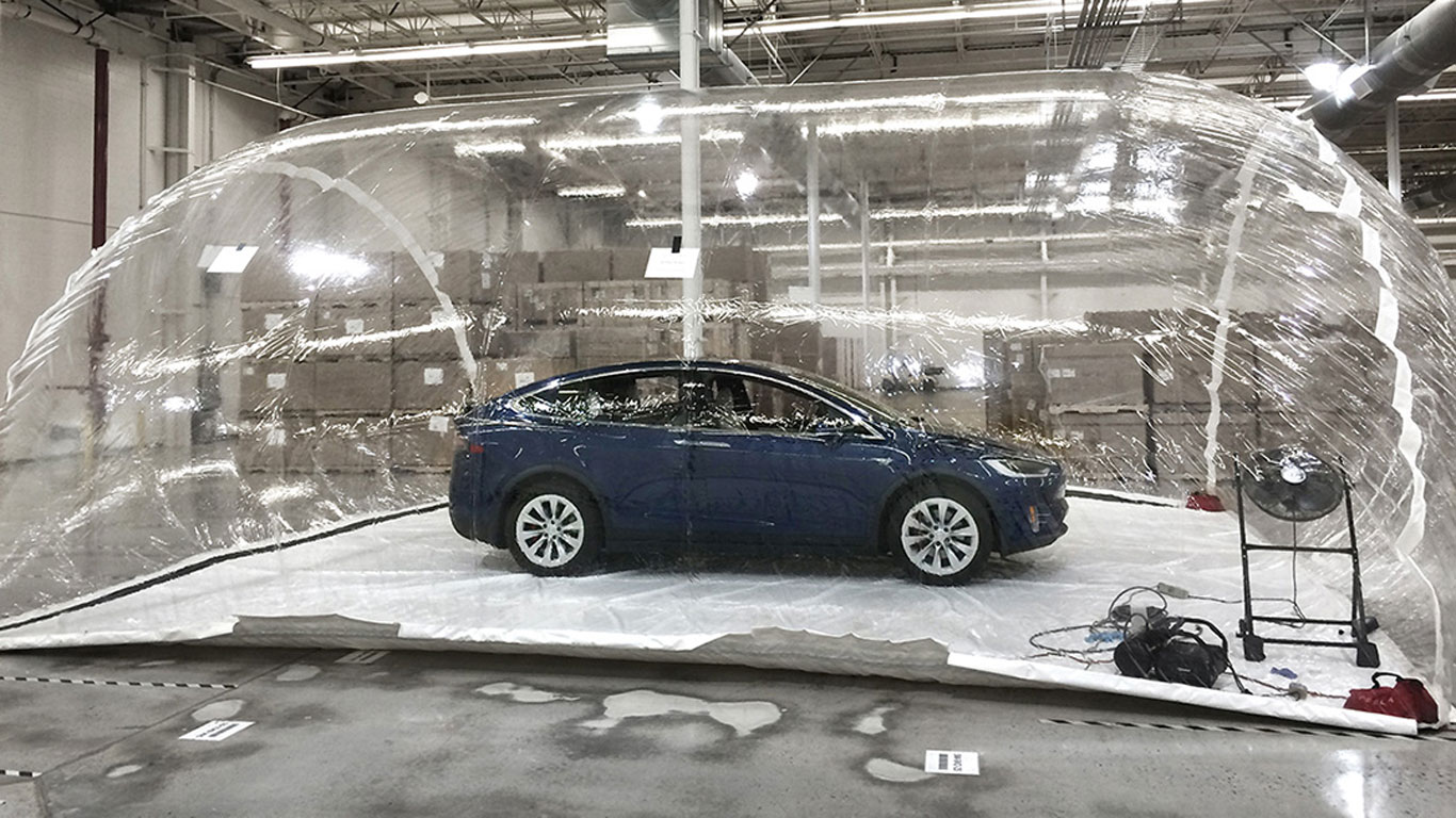 Tesla biohazard bubble