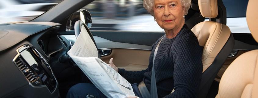 Queen gives autonomous cars the go-ahead