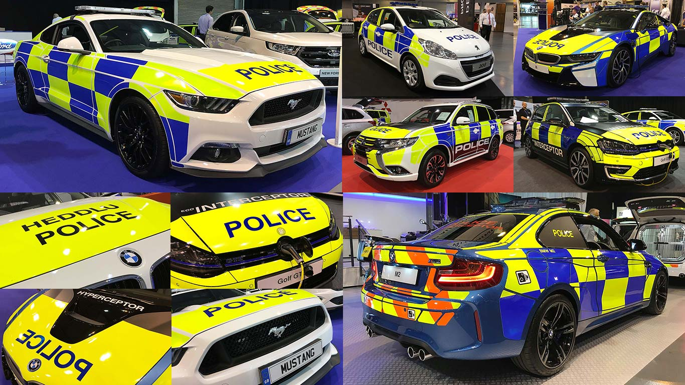 Blues and twos: Britain's wildest new police cars revealed