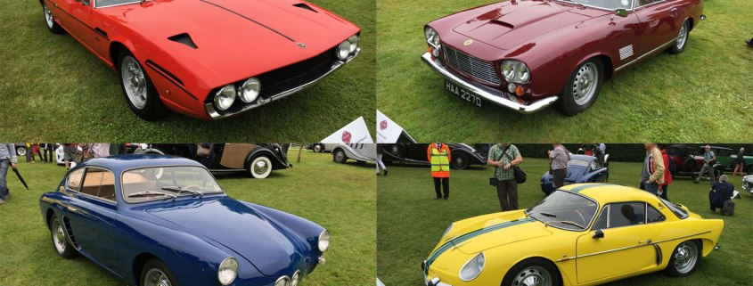 Dream cars of the Goodwood Festival of Speed concours