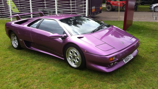 Supercars at Goodwood Festival of Speed 2016