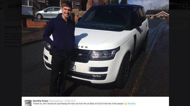 The cars of the England Euro 2016 squad