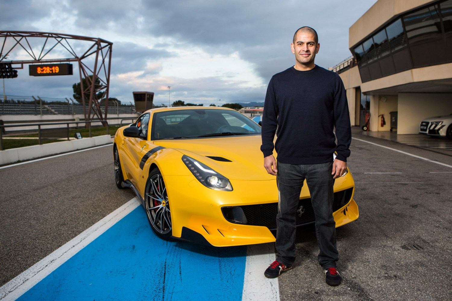 This is how Top Gear's Chris Harris was banned from driving Ferraris