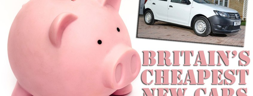 The Cheapest New Cars in Britain July 2016