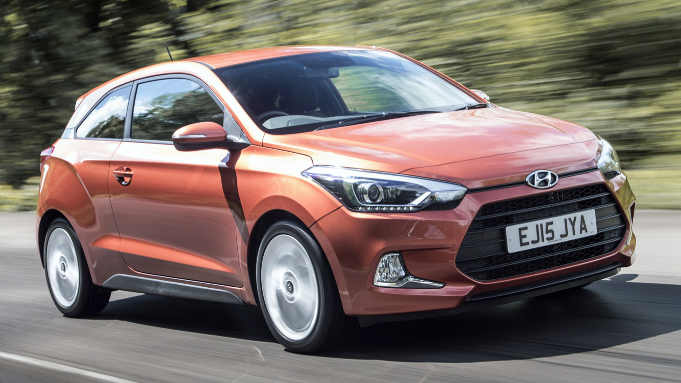 Hyundai i20 Coupe 1.2 Sport: £189.23 a month