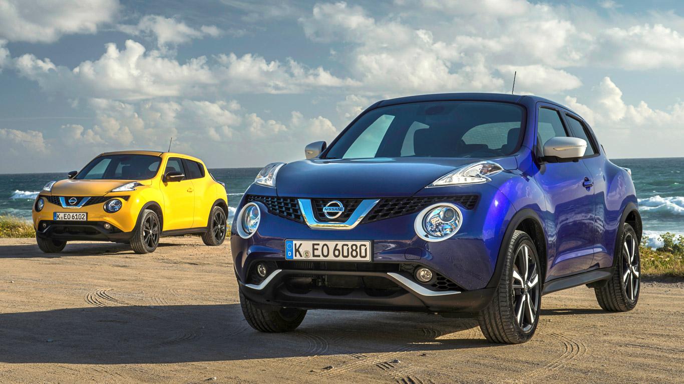 Nissan Juke 1.2 N-Vision: £189 a month