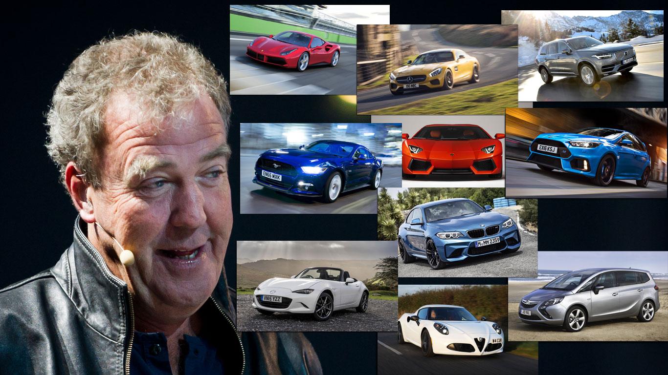 Clarkson favourite cars