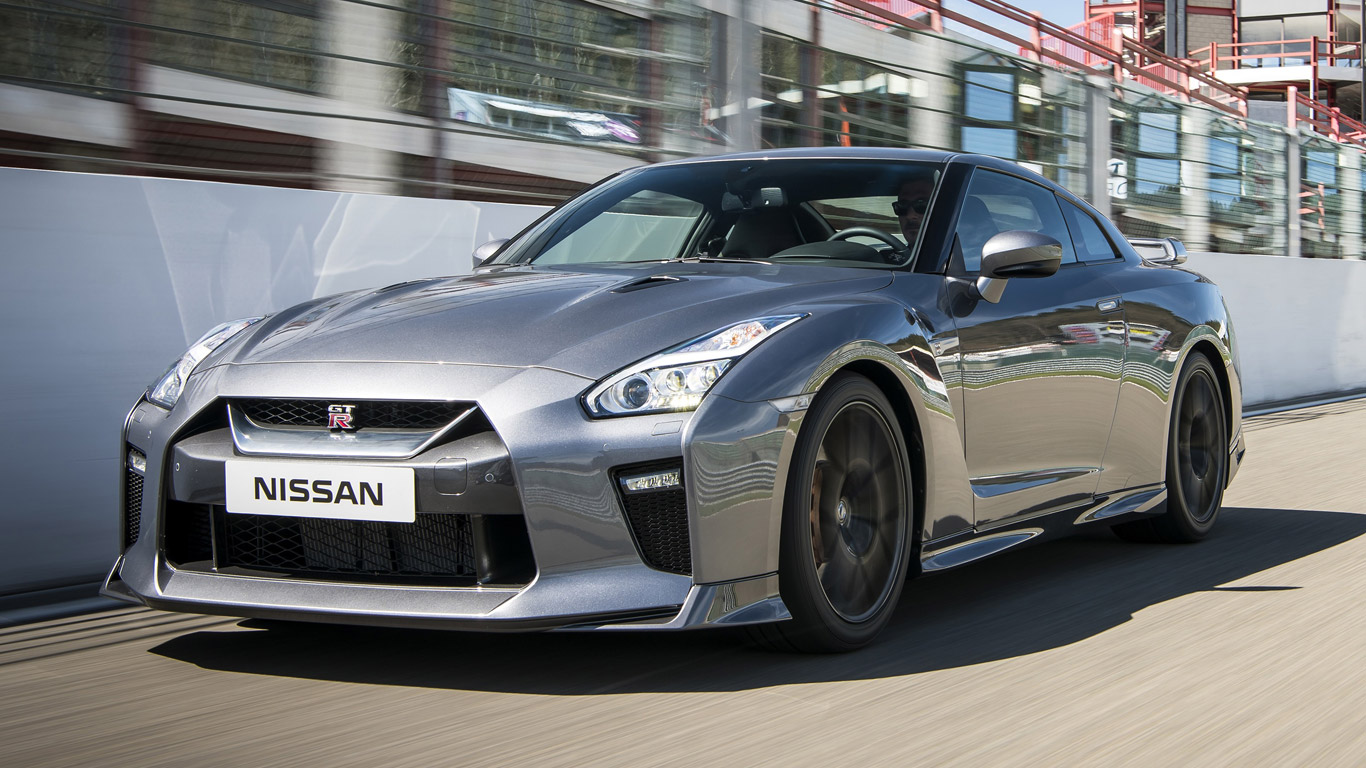 Nissan GT-R - 2.8 seconds