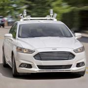 Driverless Ford Fusion Hybrid