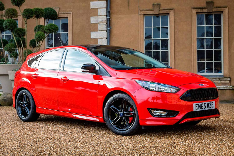 Ford Focus Zetec S Red