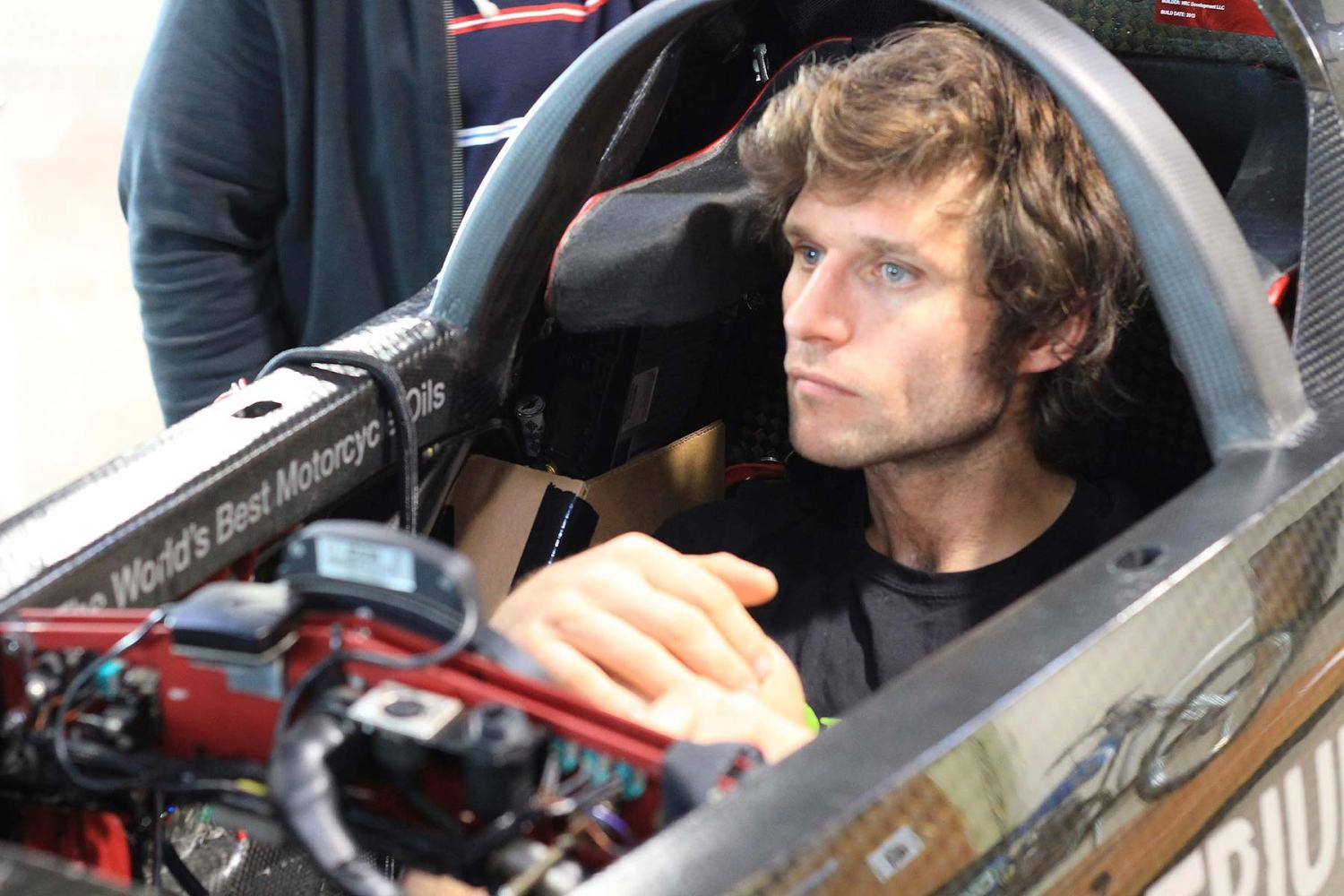 Guy Martin and Triumph in world land speed record attempt