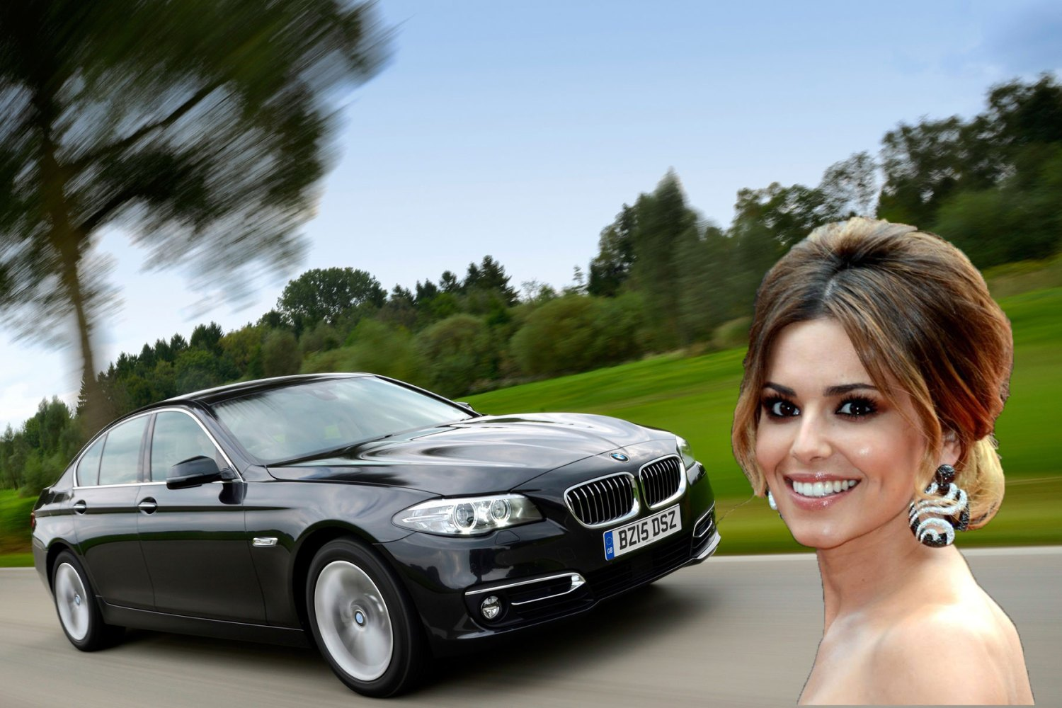BMW salesman comes to rescue of Cheryl's elderly relative