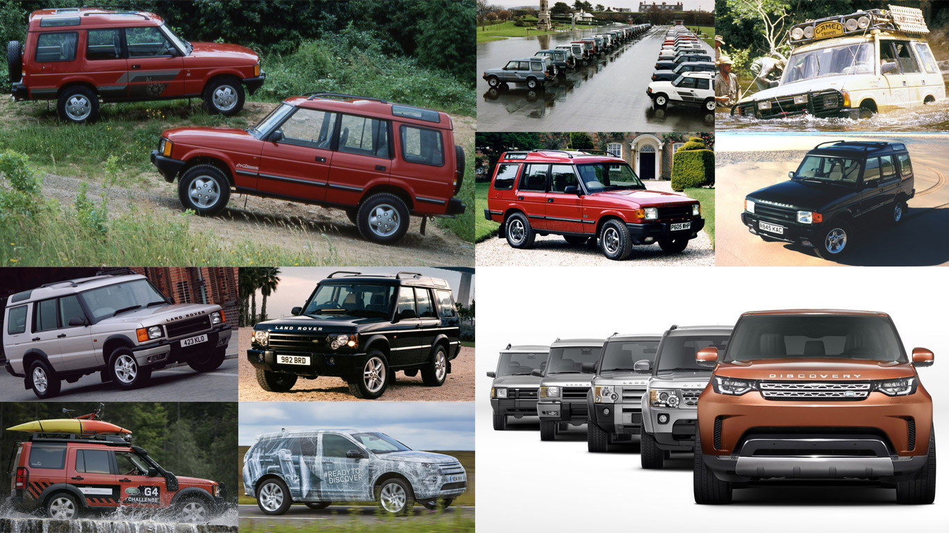 The story of the Land Rover Discovery: in pictures