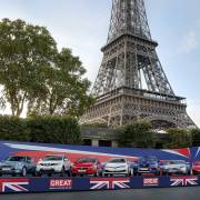 UK automotive in Paris