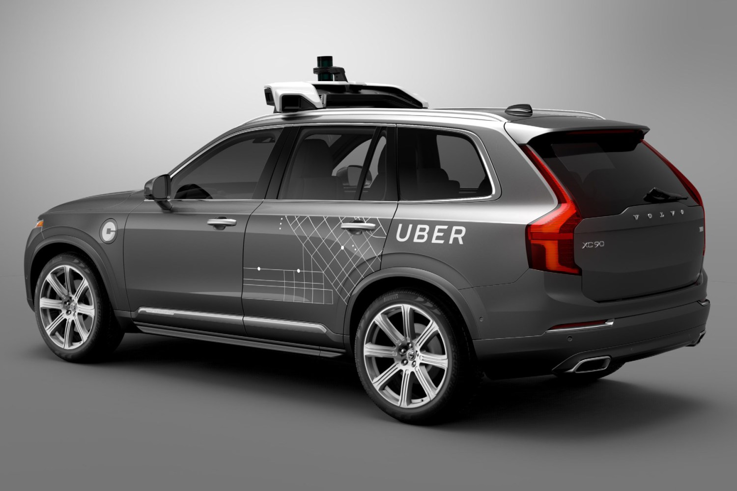Uber is mapping UK roads ready for launching driverless cars