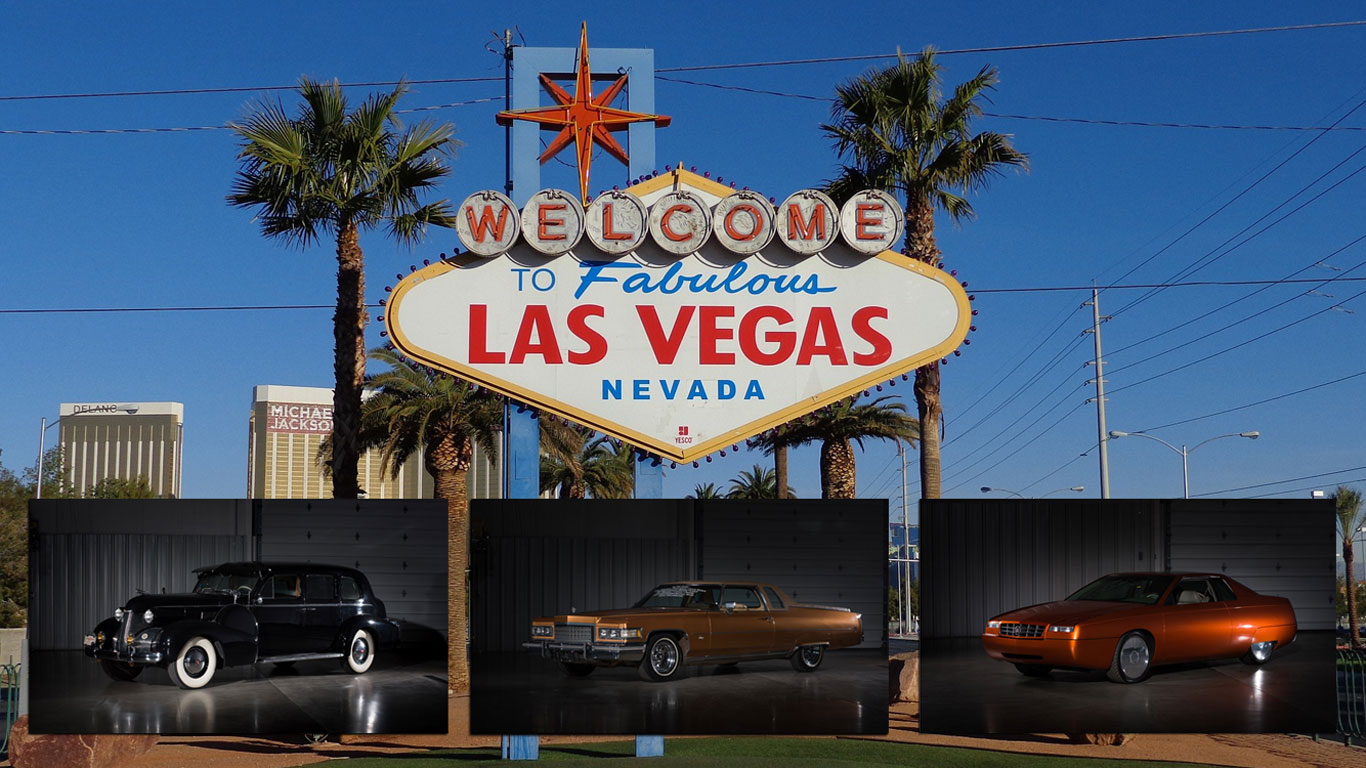 Las Vegas Auction >> American Dreams Hot Rods And Cool Caddys At Las Vegas Auction