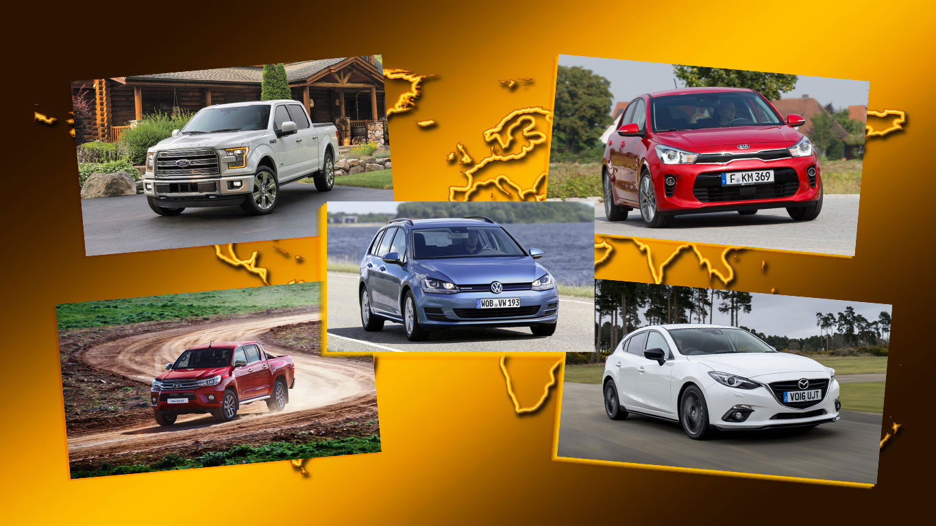 League of nations: the world's best-selling cars