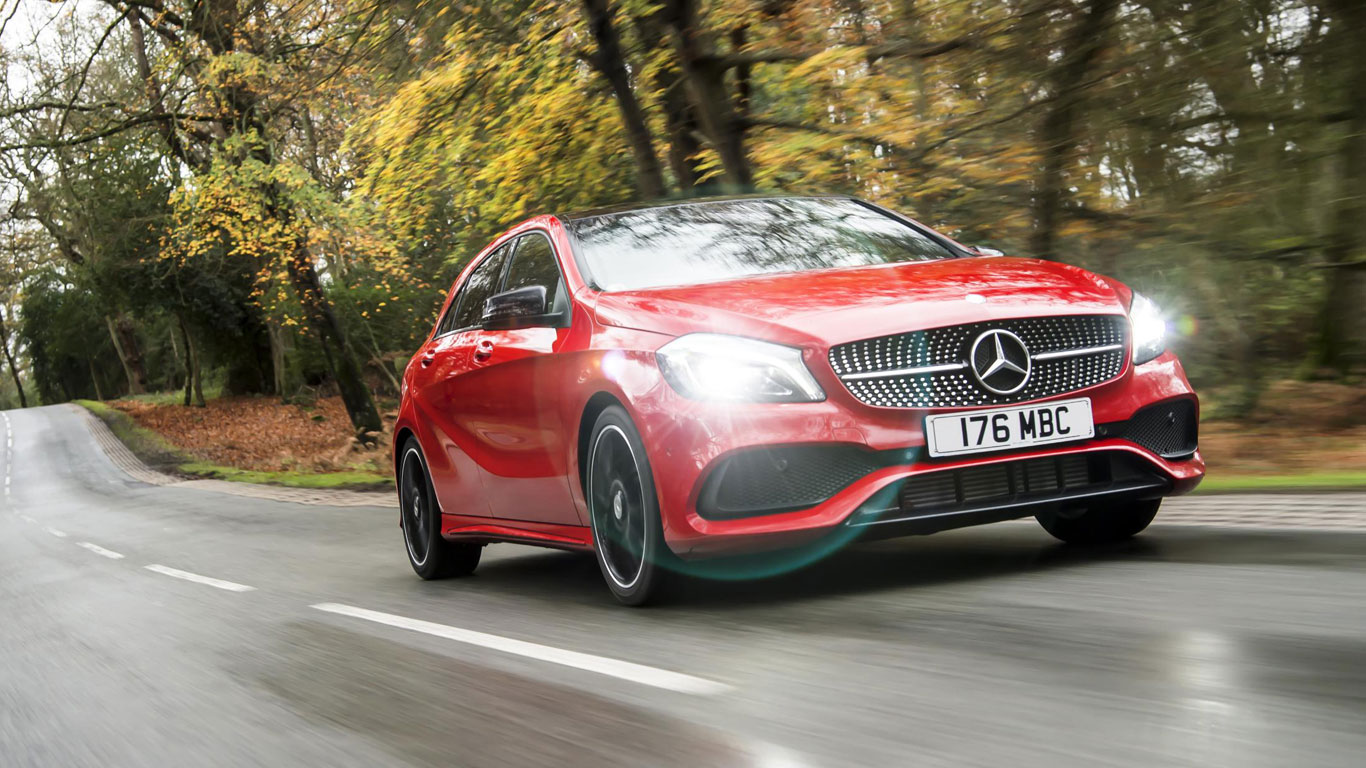18. Mercedes Benz A-Class: 13,834 registrations
