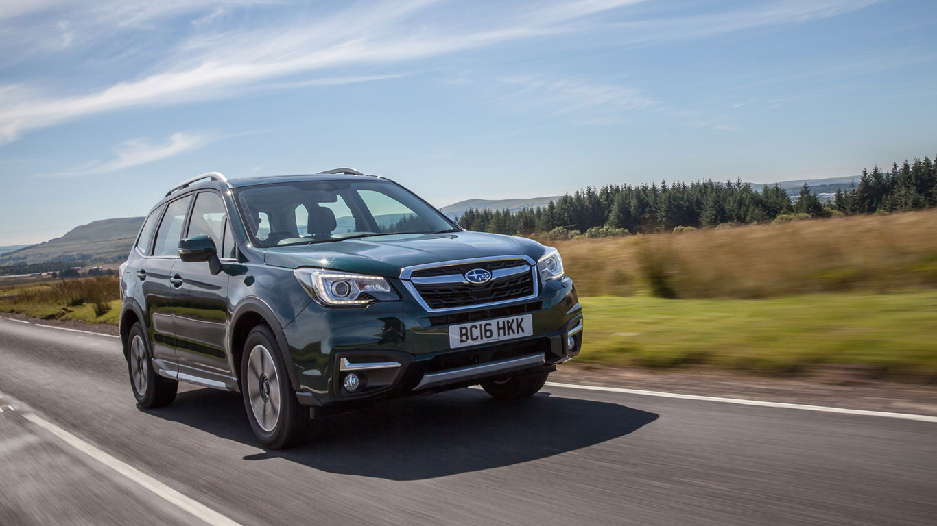 18. Subaru Forester: 804 registrations