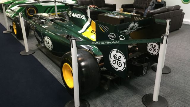 Seventh heaven: inside Caterham Cars