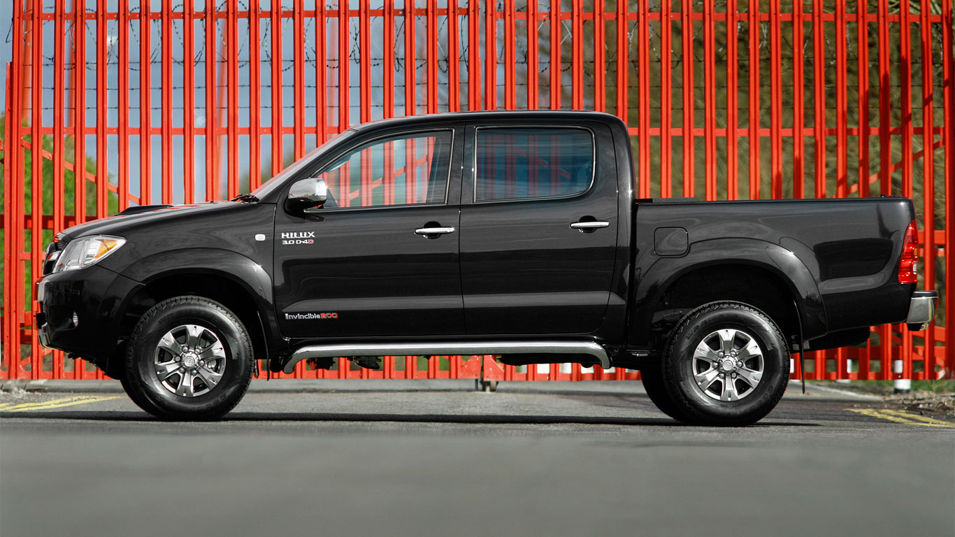 Venezuela: Toyota Hilux (60 registrations)