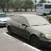 Abu Dhabi officials are towing away dirty cars because they're an eyesore