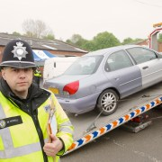Police are cracking down on uninsured drivers this week
