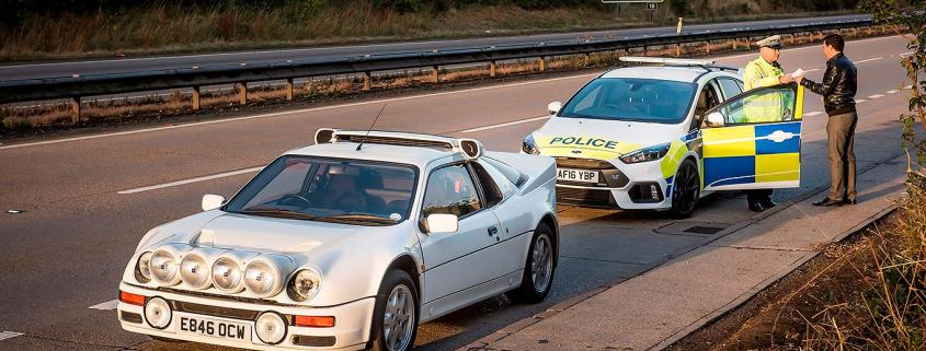 Ford police cars through the years