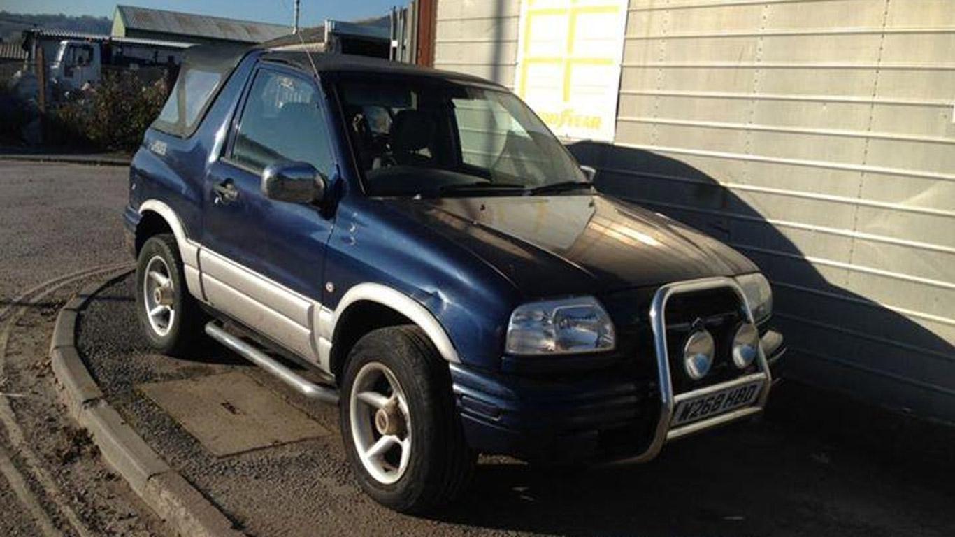 Suzuki Grand Vitara – £600