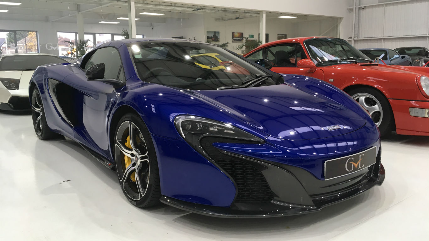 Inside London's most exciting supercar showroom