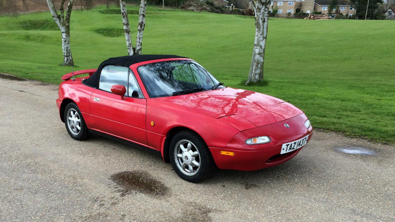 Mazda MX-5 – £750
